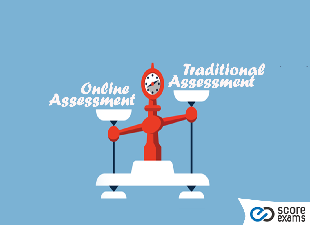 Traditional Assessment Vs Online Assessment Blog Post Scoreexams What happens after an online assessment? traditional assessment vs online